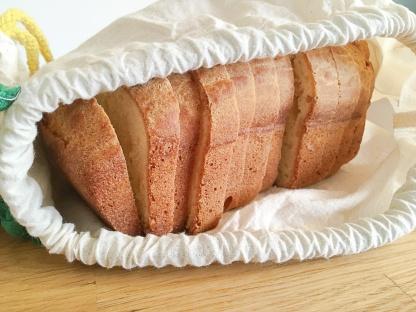 Brot plastikfrei einfrieren Baumwollbeutel