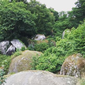 Huelgoat Klettern Mystischer Wald