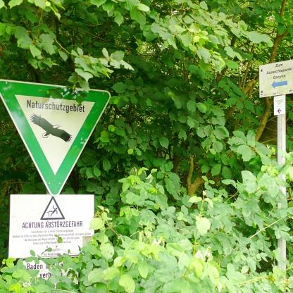 naturschutzgebiet canyonblick teutoschleifen