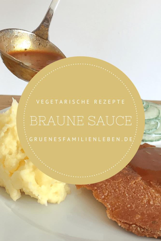 glutenfreie Bratensauce braune Sauce