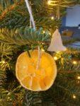 Deko Orangenscheiben trocknen