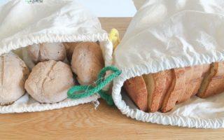 Brot Broetchen Plastikfrei einfrieren