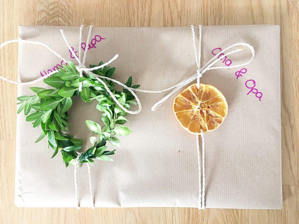 Geschenke Nachhaltig Einpacken Deko DIY