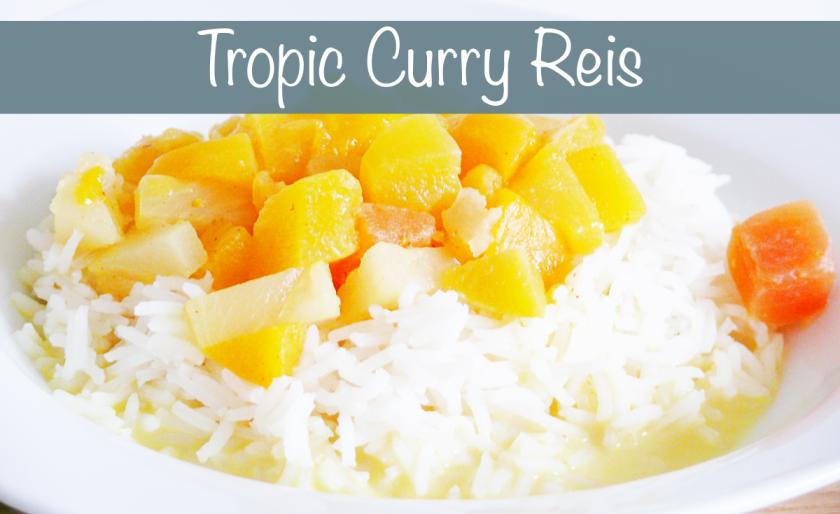 Rezept Vegetarisch vegan tropic curry reis