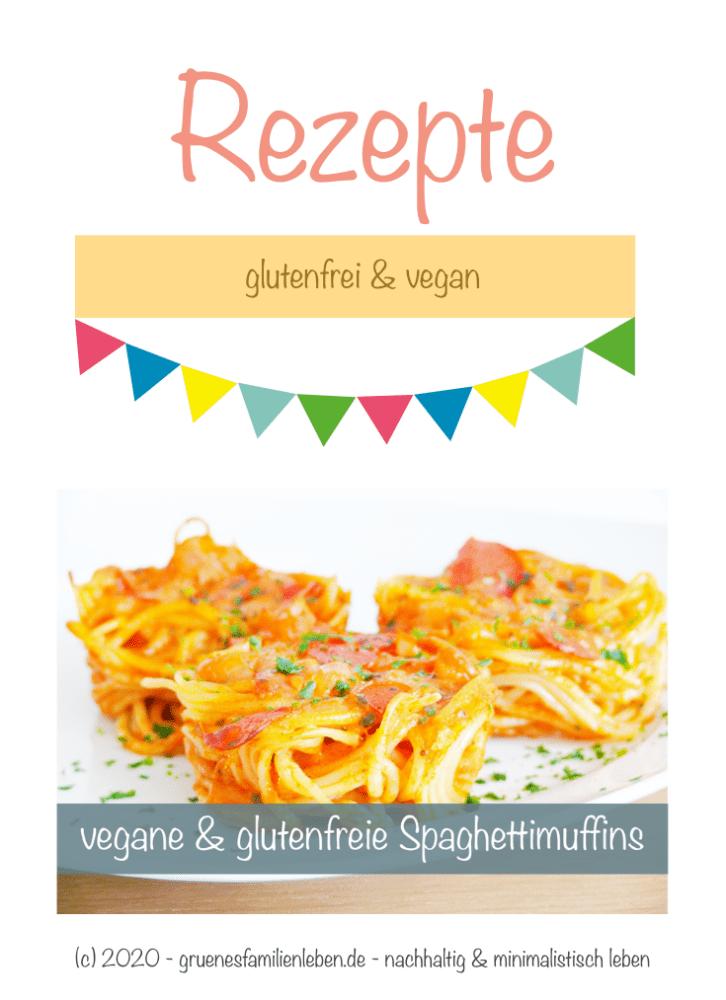 vegane Spaghetti-Muffins