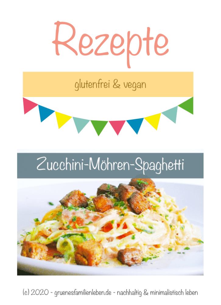 Zucchini Moehren Spaghetti Pinterest