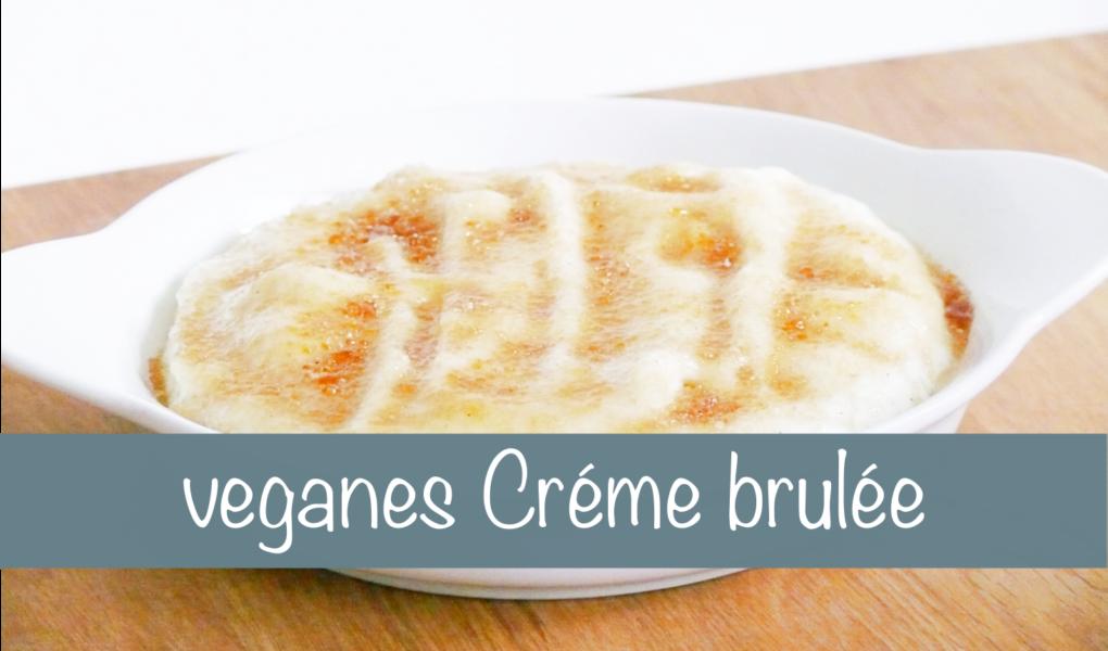Creme brûlée vegan Rezept