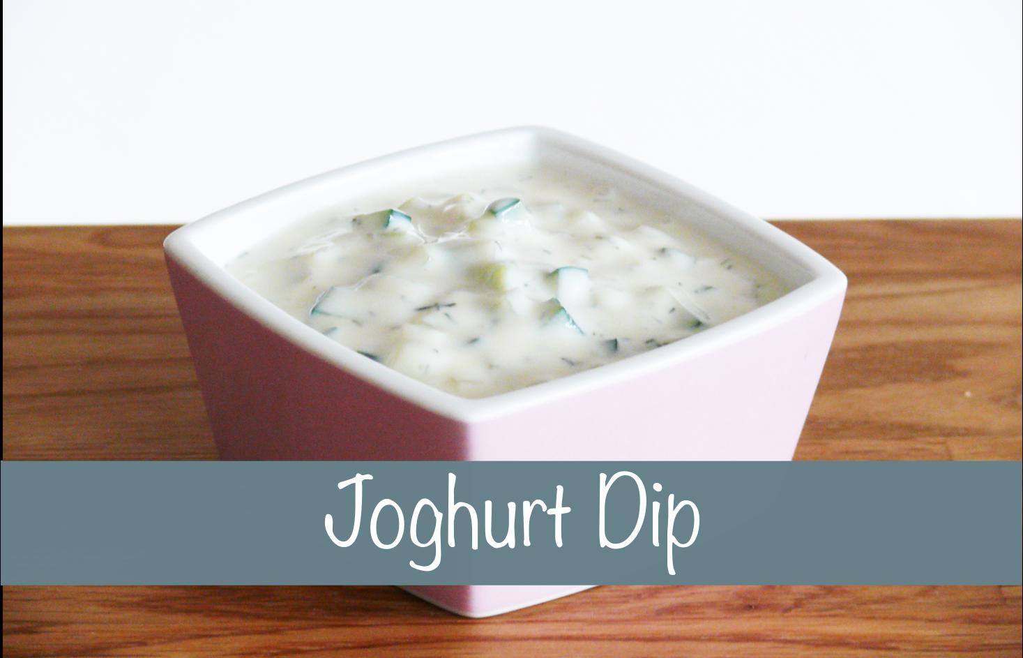 Joghurt Dip vegan Rezept