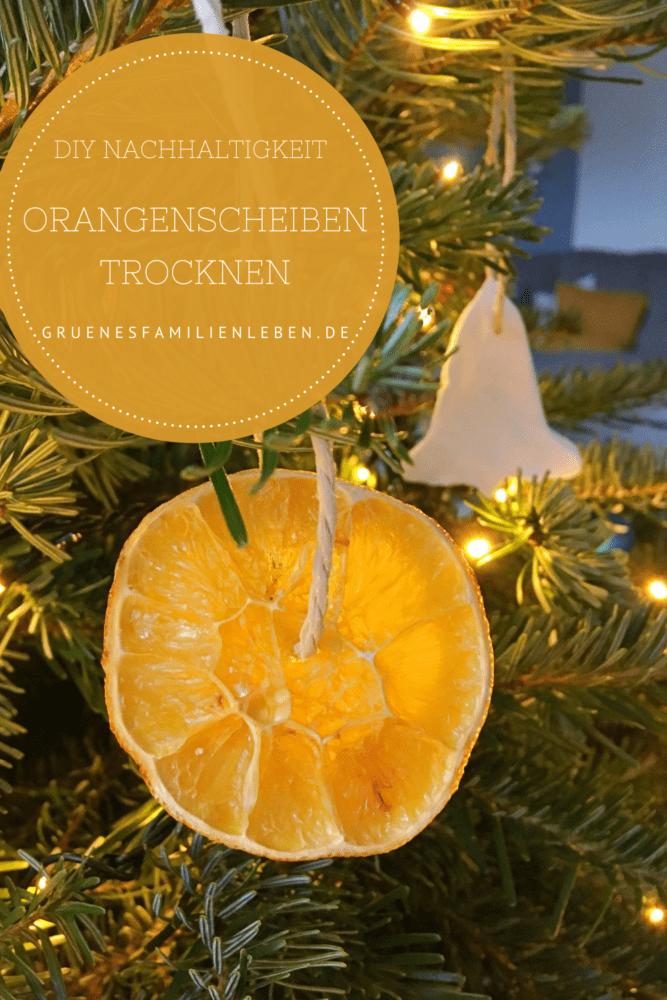 Orangenscheiben trocknen Anleitung