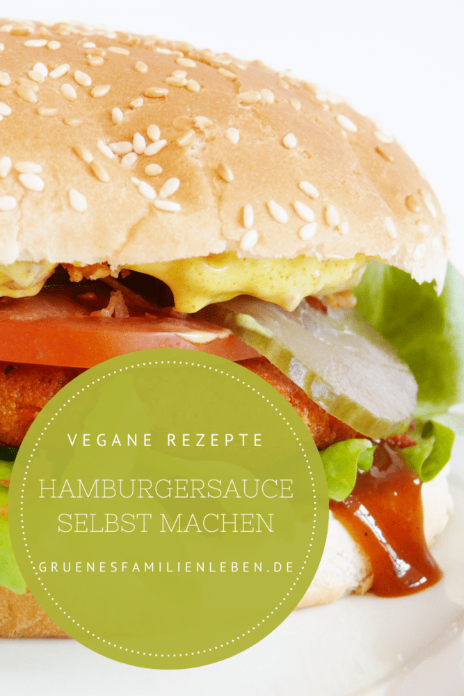 vegane Hamburgersauce Rezept