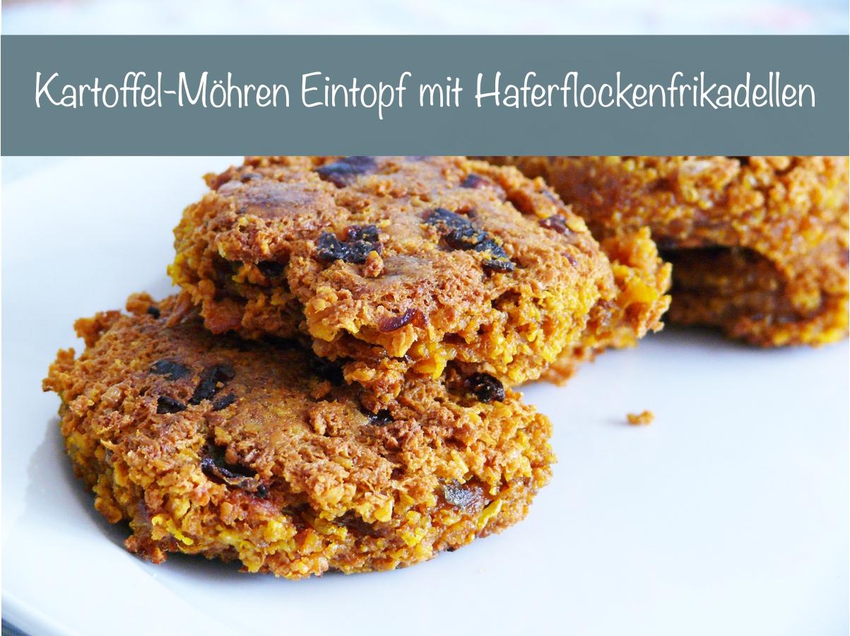 glutenfreie Haferflockenbratlinge