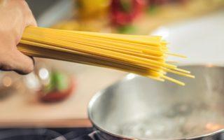 Spaghetti in Gemüsesauce