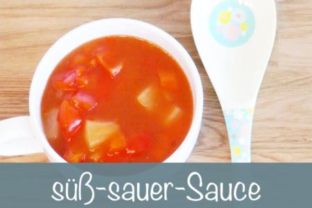 süß sauer Sauce Rezept