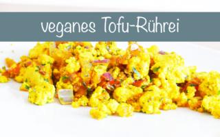 veganes ruehrei Tofu Rezept
