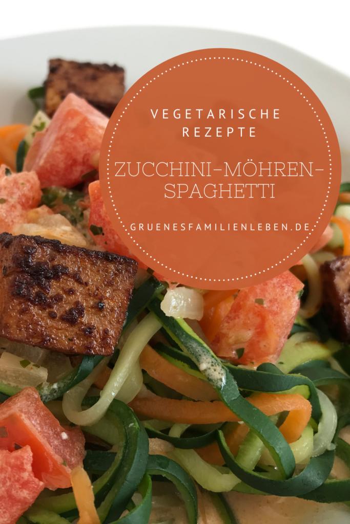 Zucchini-Möhren-Spaghetti Rezept