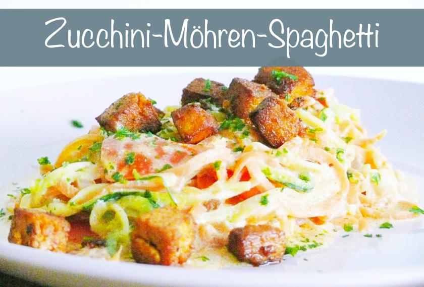 zucchinispaghetti rezept glutenfrei
