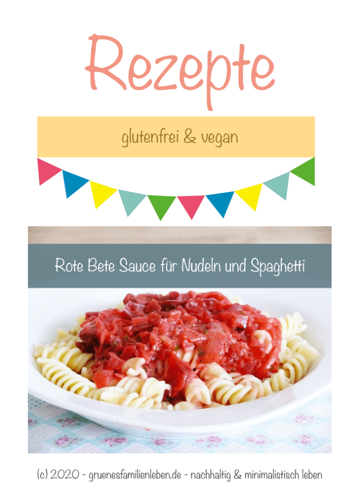 Rote Bete Sauce Nudeln Pinterest