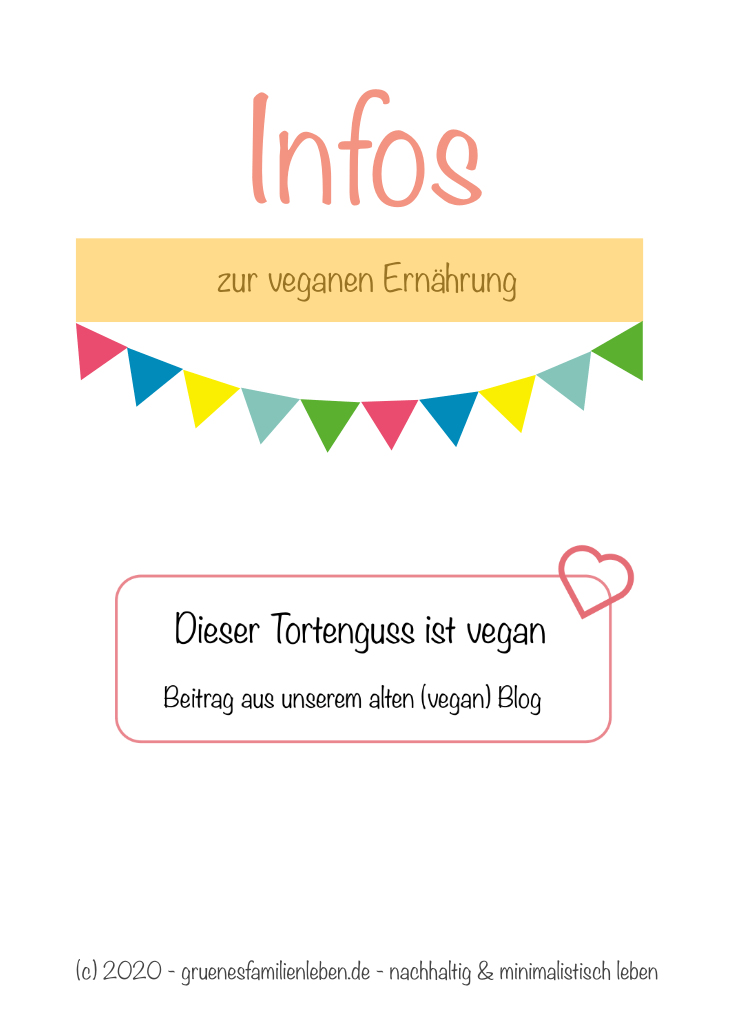Tortenguss vegan Pinterest