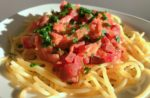 Nudeln mit Rote Beete Sauce