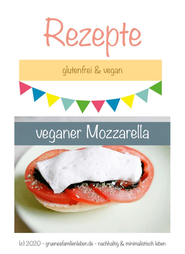veganer Mozzarella Pinterest