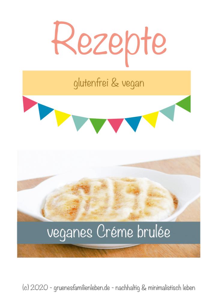 veganes Creme brulee Pinterest