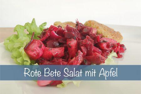 Rote Bete Apfelsalat