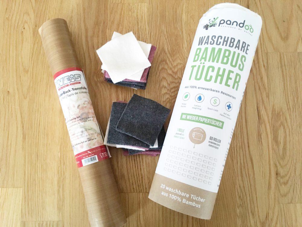 Nachhaltigkeitsblog Bambustuecher Abschminktuecher Backpapier