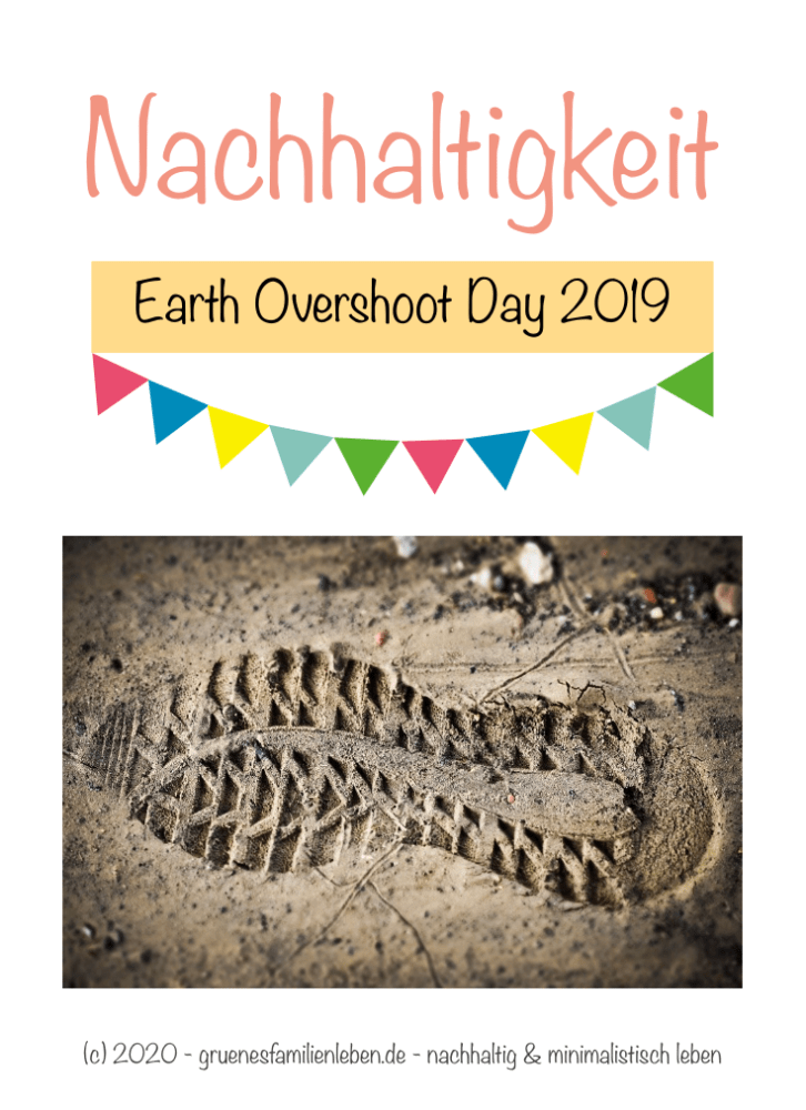 earth overshoot day 2019 Pinterest