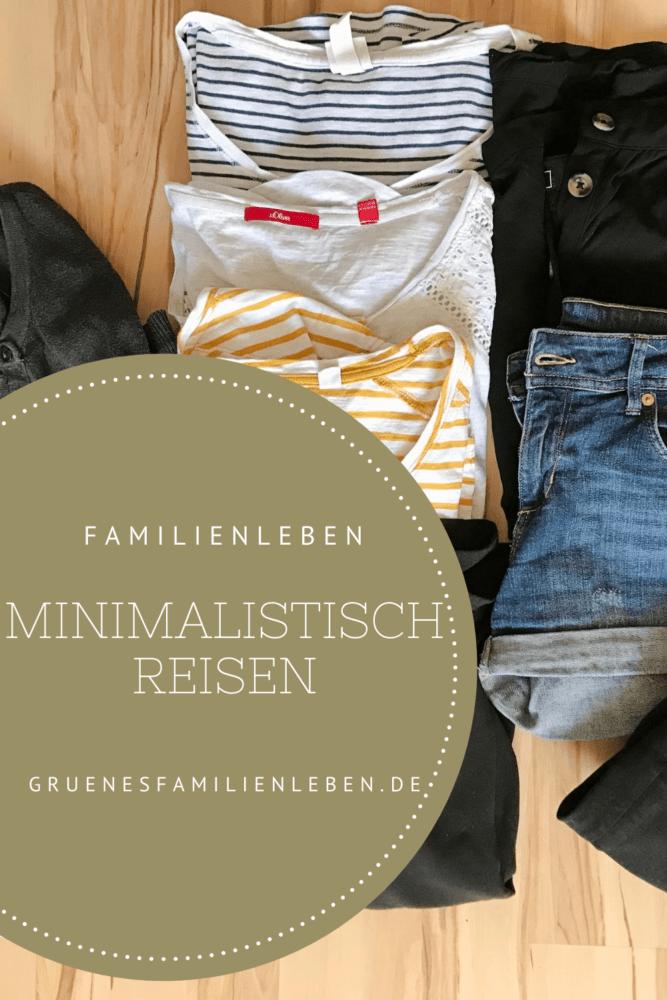 minimalistisch reisen familien