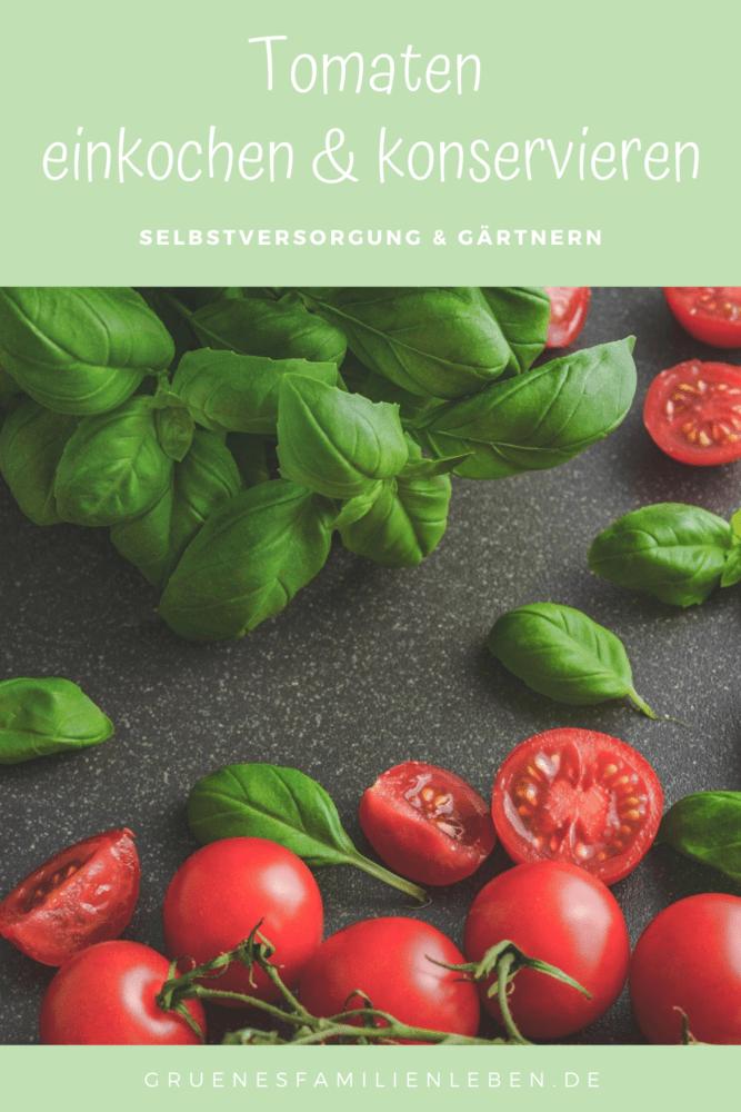 tomaten einkochen konservieren pint