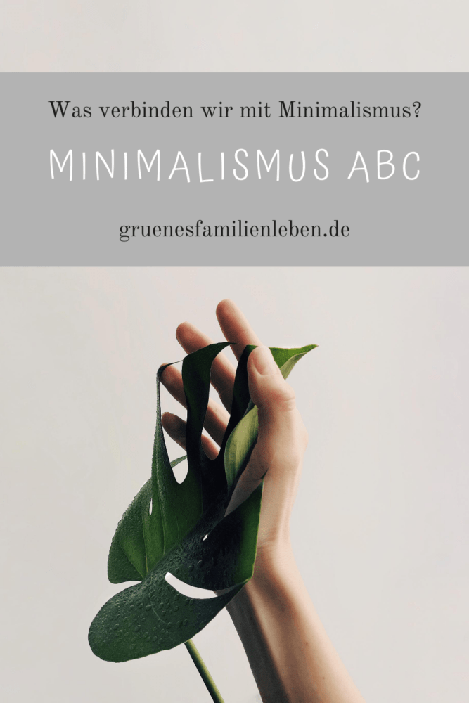 was bedeutet minimalismus abc pinterest