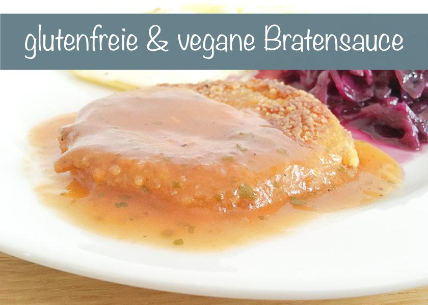 Rezept glutenfreie vegane Bratensauce