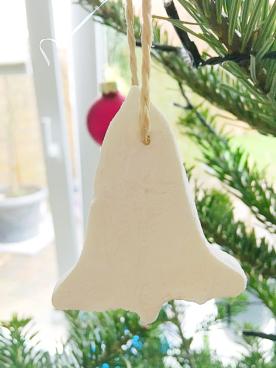 Weihnachtsdeko Weihnachtsbaum oekologisch Natronteig selbermachen