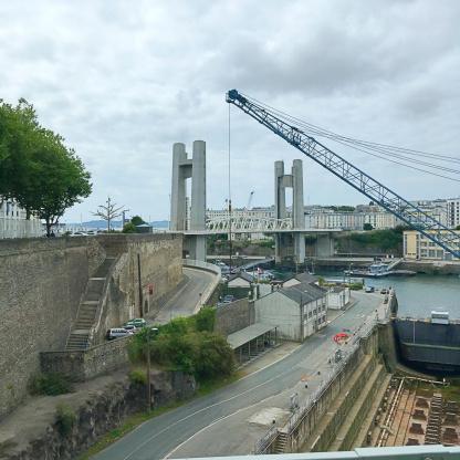 brest hafenbecken Ausflugsziel Bretagne Frankreich