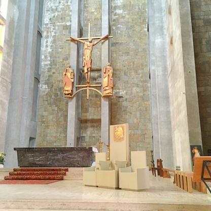 brest kirche innen Frankreich Bretagne