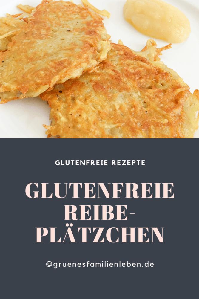 glutenfreie reibeplaetzchen rezept pinterest