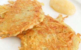 Rezept glutenfreie Reibeplätzchen