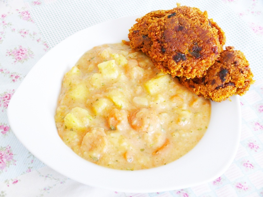 haferflockenbratlinge kartoffel moehren eintopf rezept