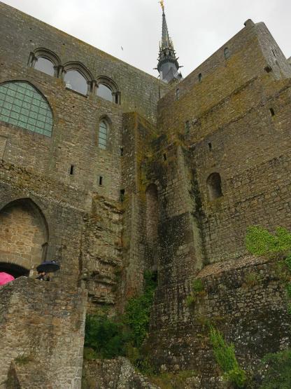 mont saint michel aussen Bretagne Urlaub