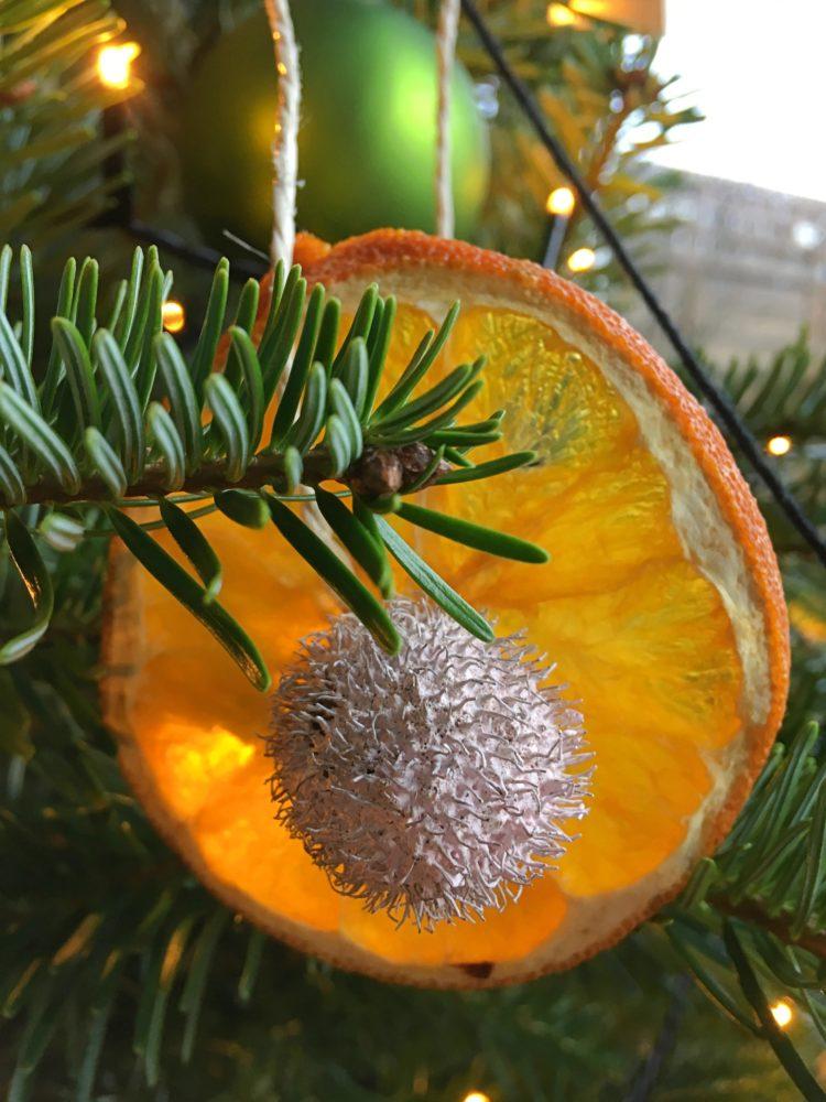Anleitung Orangenscheiben trocknen