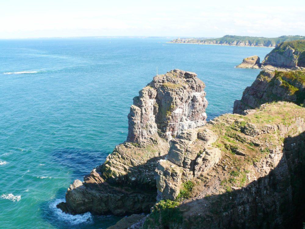 Cap Frehel Kueste Bretagne Frankreich