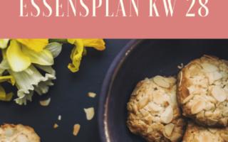 glutenfreie vegetarische Rezepte Essensplan KW 28