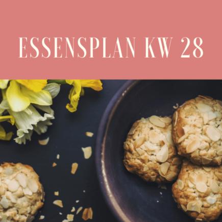 Essensplan kw28