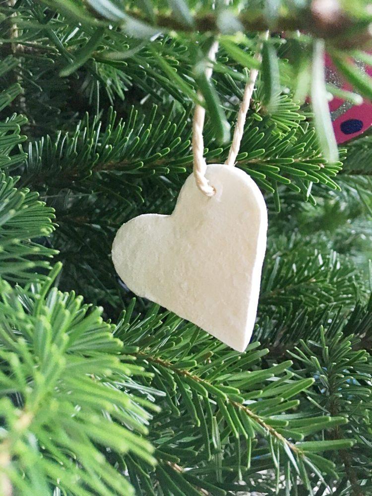 Salzteig glutenfrei Weihnachtsdeko