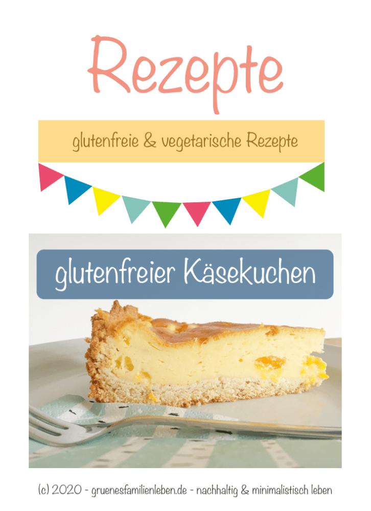 glutenfreier Kaesekuchen Pinterest
