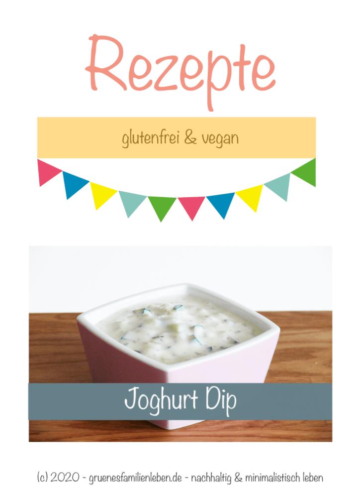 veganer Joghurt-Dip Rezept