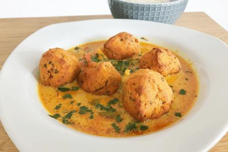 linsenbaellchen currysauce