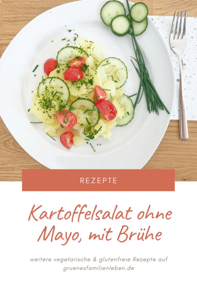 Kartoffel Salat ohne Mayo Rezept