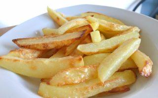 Rezept Pommes selbermachen