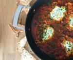 Rezept für vegetarisches Schakschuka